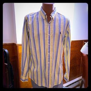 Classic and Classy stripes on Ralph Lauren shirt